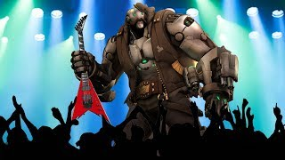B.O.B. THE ROCK GOD! Overwatch Funny & Epic Moments 734