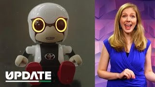 Meet Kirobo Mini, the baby robot best friend of your dreams (CNET Update)