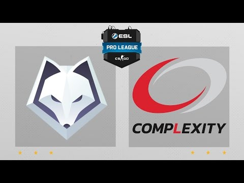CS:GO - Winterfox Vs. CompLexity [Dust2] Map 2 - ESL Pro League Season 4 - NA Matchday 23
