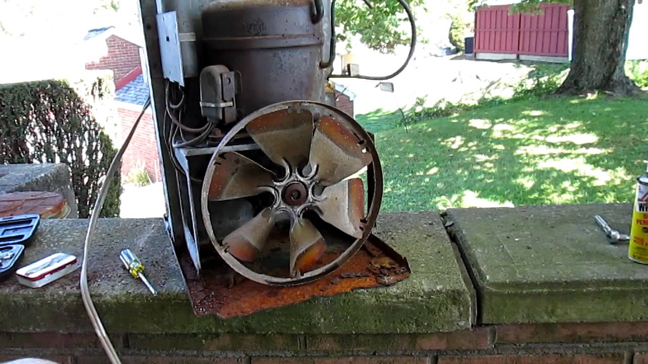 Scrapping Old Window Air Conditioner Youtube