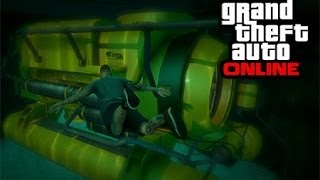 GTA 5 online - Onde encontrar o submarino. (GTA V)