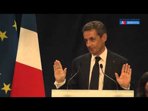 Nicolas Sarkozy à Saint-Etienne