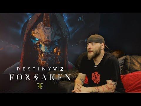 Destiny 2: Forsaken E3 Trailer REACTION thumbnail