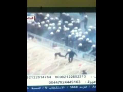 Police shooting protesters in Bahrain