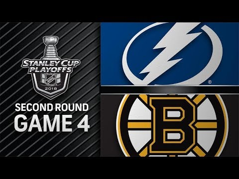 Tampa Bay Lightning vs Boston Bruins – May. 04, 2018 | Game 4 | Stanley Cup 2018. Обзор