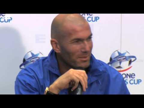 Zinedine Zidane, nuevo técnico del Real Madrid Castilla