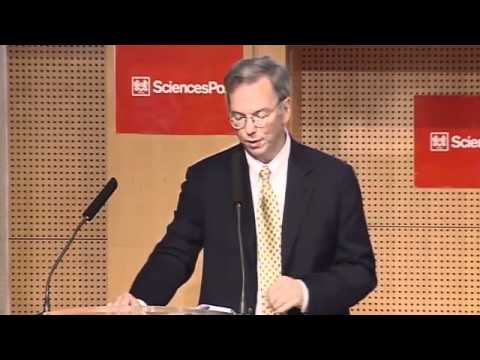 Eric Schmidt at Sciences Po