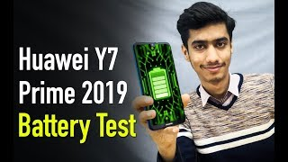 Huawei Y7 Prime 2019 Battery Charge and Drain Test
