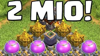 2 MIO LOOT! || CLASH OF CLANS || Let