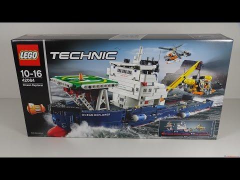 [4K] Lego Review: Lego Technik 42064 Ocean Explorer