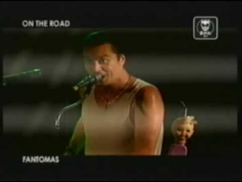 FANTOMAS in BERGAMO 06/28/05 part 3 - ROCK TV