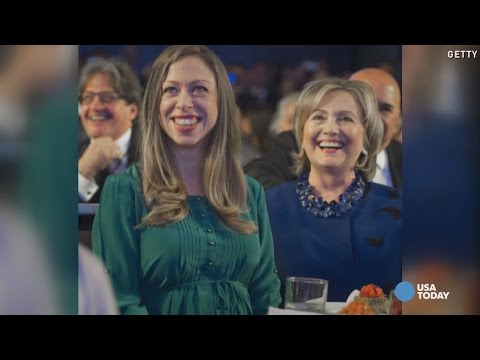 Chelsea Clinton welcomes baby girl Charlotte