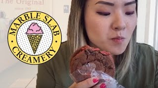 Canada Gourmet - Review Marble Slab Creamery