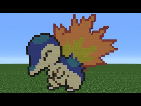 Minecraft Tutorial: How To Make A Cyndaquil