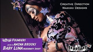 TRAPXART Founders Maternity Shoot for Baby Luna; Creative Direction by Waikiikii Designs