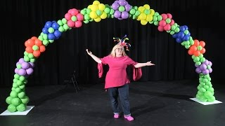 Balloon Arch in a Flower Pattern ~ DIY Tutorial
