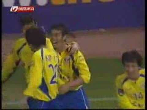 2007 AFCCL LNTS v Seong: Ilhwa's Chao head to draw 78' Ilhwa's Chao head to draw 2007 AFC Champions League group stage Shandong Luneng Taishan (China) v Seon...