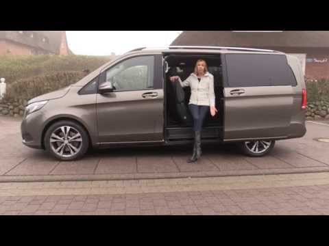 2015 Mercedes V-Class first test drive review - Autogefühl Mercedes V-Klasse