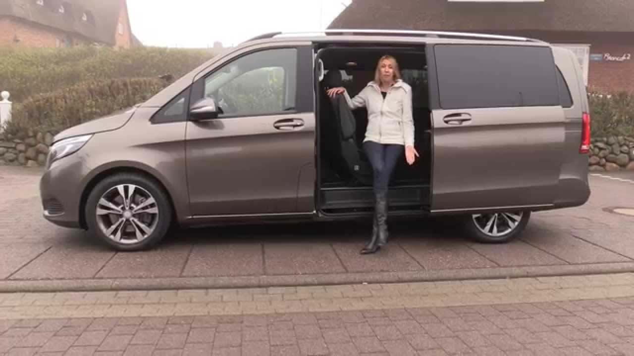 2015 mercedes v class first test drive review autogef hl mercedes v klasse youtube. Black Bedroom Furniture Sets. Home Design Ideas