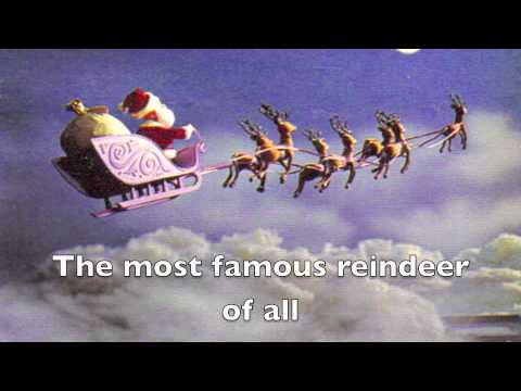 Rudolph the Red Nosed Reindeer LYRICS VIDEO