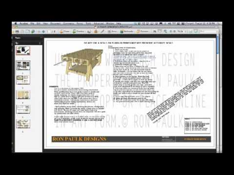 ... Paulk Workbench Plans PDF scrapbook desk plans | download wood plans