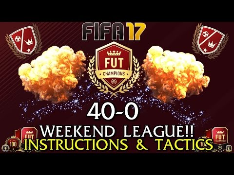40-0 WEEKEND LEAGUE INSTRUCTIONS & TACTICS