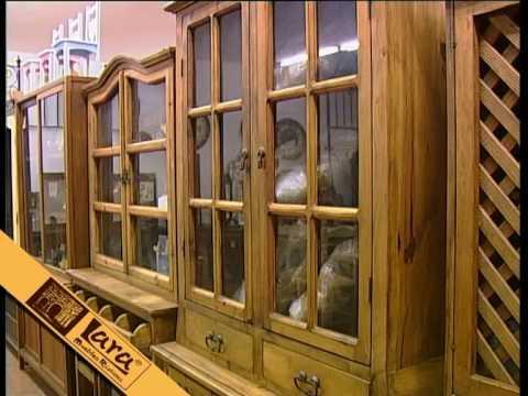 Muebles rusticos lara youtube - Muebles en crudo para pintar ...
