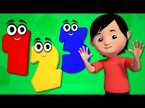 numbers Song  learn Numbers 123 Songs nursery rhymes baby videos   kids tv S02 EP0123