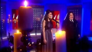 Jonathan & Charlotte Video - Johnathan and Charlotte -  Vero Amore - Elton John's Your Song - 8th Nov (This Morning)