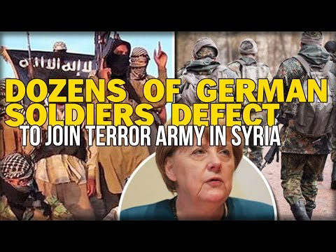 DOZENS OF GERMAN SOLDIERS DEFECT TO JOIN TERROR ARMY IN SYRIA