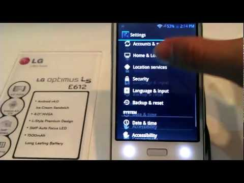 Hands On - LG Optimus L5 (E612)