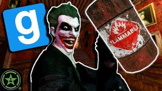 Wanna See a Barrel Trick? - GMod: TTT Batman Edition | Live Gameplay