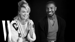 Margot Robbie and Michael B. Jordan on Being Each Other's Movie Crushes | W Magazine