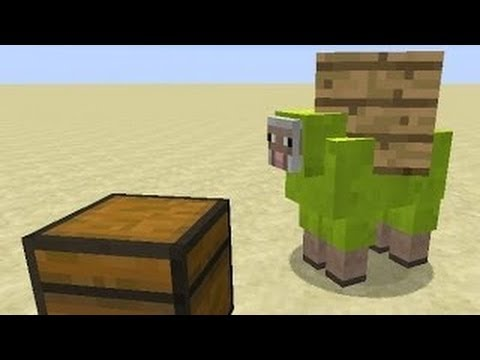 Mob Care Packages Minecraft Concept WITHOUT MODS