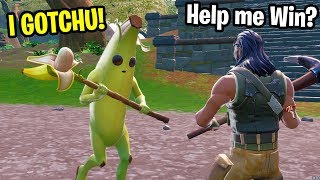 I played with the MOST ADORABLE KID at 2am on Fortnite! (he's NEVER Won!)
