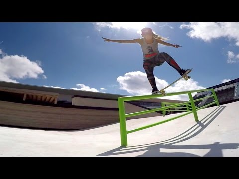 Leticia Bufoni & Curren Caples Skate Street Course Spotlight - X Games Austin 2015