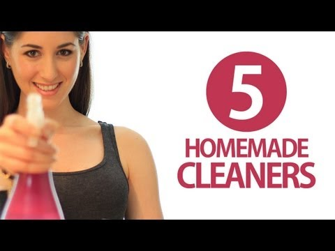 5 Homemade Cleaners! DIY Cleaning Products!