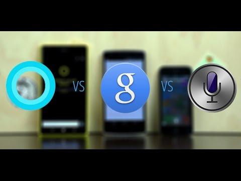 Siri, Google Now, Microsoft Cortana - сравнение голосовых ассистентов от сайта Keddr.com