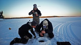 My BEST Day Ice Fishing!!!