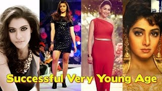 Bollywood Actresses Who Become Successful At Very Young Age