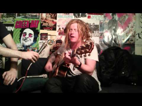 Travis Clark of We The Kings performing a NEW SONG and Secret Valentine on Live With DJ Rossstar
