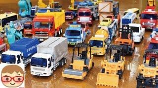 Construction Vehicle Toys Excavator, Concrete Mixer, Recovery Vehicle, Dumper, Dustcart, Backhoe