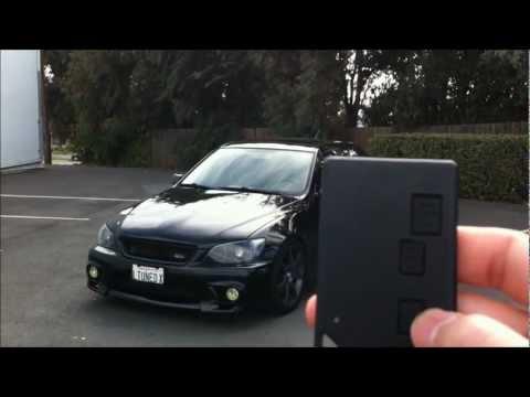 FULL Review: Advanced Keys Push Start Smart Keyless Entry System Lexus IS300