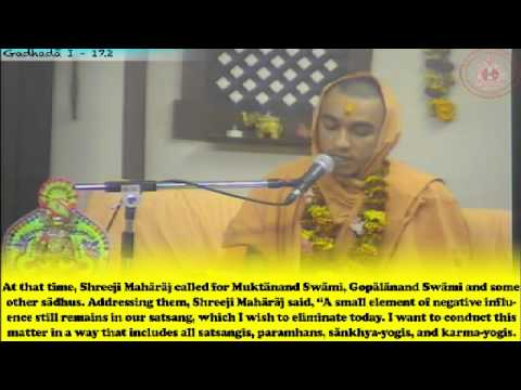 Cardiff Temple 30th Patotsav 2012 - Day 4 - Evening Vachnamrut Katha