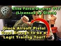 Elite Force/Umarex G17 Glock Licensed Airsoft is Hot Garbage