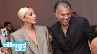 That Moment Lady Gaga Reveals She's Engaged at ELLE's Women in Hollywood | Billboard News