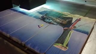 Печать картины на досках от CreativeWood