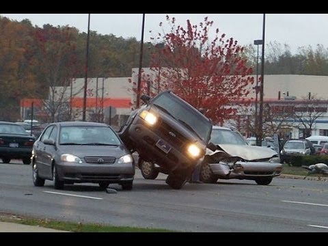 Horrific Car Accidents Caught On Tape