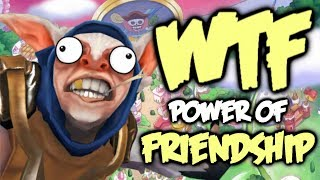Dota 2 WTF Moments - Power of Friendship Compilation
