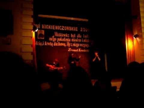 Dni Mickiewiczowskie: Lilije (poezja śpiewana) - Iga, Kuba, Piotrek